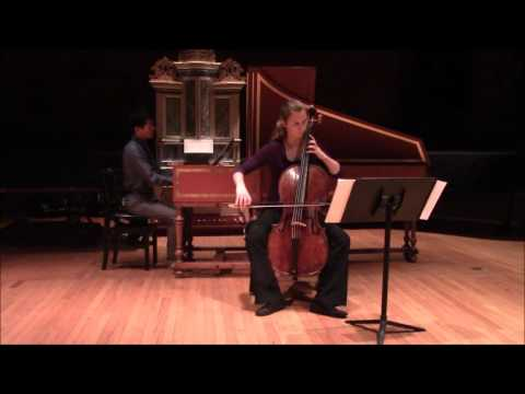 Geminiani Cello Sonata Opus 5 no. 1 in A major