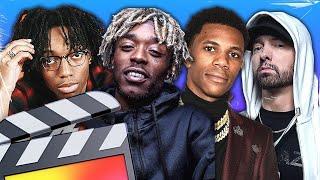 TOP 10 MUSIC VIDEO EFFECTS OF 2019 (No Plugins) - FINAL CUT PRO X