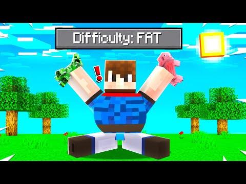 Minecraft But EATING MOBS = GET FAT!? (Gaining Weight in Minecraft ...) - Minecraft Mods Gameplay