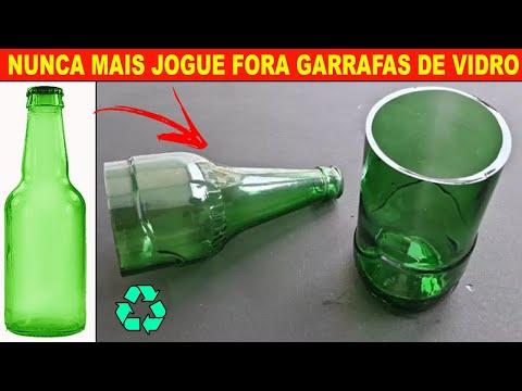 Como reciclar suas garrafas