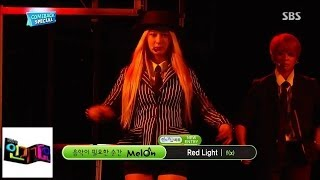 [에프엑스(F(x))] Red Light @인기가요 Inkigayo 140706