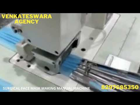 SURGICAL 3PLY MASK MAKING MANUAL MACHINE