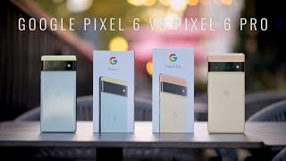 Google Pixel 6 vs Google Pixel 6 Pro Unboxing and Comparison with Pricing!