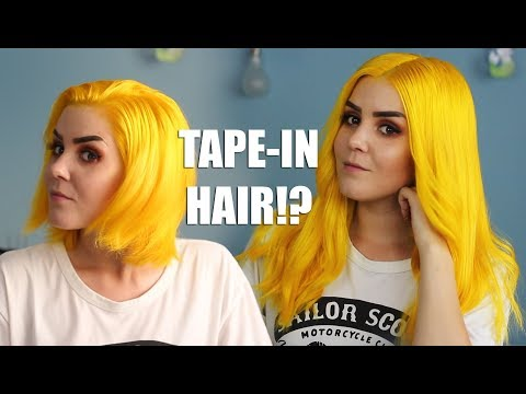 Tape In Extensions Lication Removal And Transformation Vp Fashion
