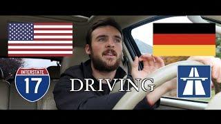 Driving: Germany vs. USA
