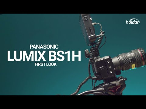 The S1H Gets the Block Camera Treatment - Panasonic LUMIX BS1H First Look