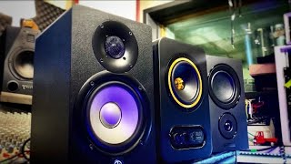 Yamaha HS5 vs Tannoy Gold 5 vs Mission LX2 PROFESSIONAL SOUND DEMO e REVIEW (SuB EnG)