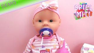 New Born Baby Puppe von Simba - Baby Born Alternative Demo