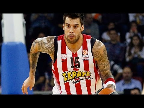 Top 16, Round 6 MVP: Georgios Printezis, Olympiacos Piraeus