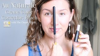 Au Naturale Peach Color Corrector - The Choosy Chick || Clean Beauty, Cruelty Free, Organic, Natural
