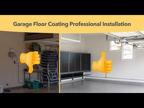 A New Garage Floor Coating and Garage Storage for Life On Virginia Street