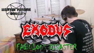 Exodus - Fabulous Disaster - Drum Cover