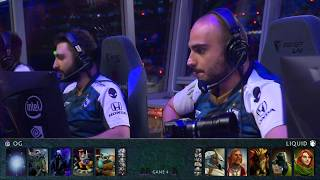 OG vs Team Liquid TI9 Grand Final Highlights Match 4