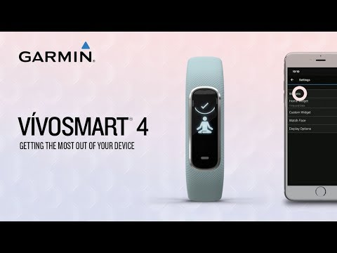 Garmin vívosmart 4: Getting the Most Out of Your Device