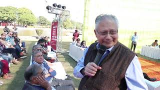 Mr. Shiv Khera during his keynote address at Literati 2018