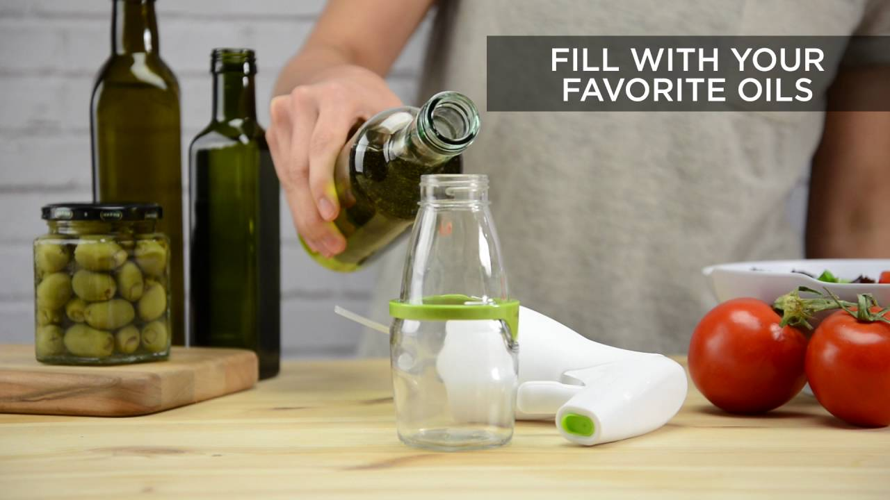 Simply Mist Olive Oil Sprayer (Gray Band) video thumbnail