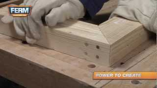 How to create a strong mitre joint