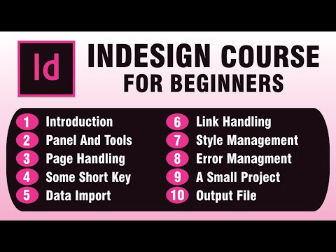 InDesign Course for Beginners हिंदी में
