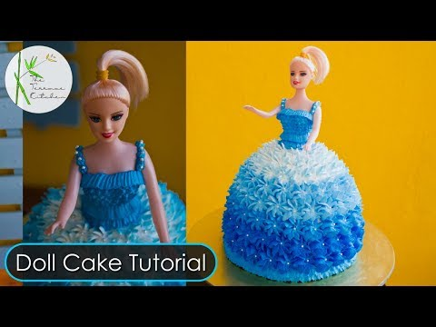 Video Doll Cake Tutorial ~ By The Terrace Kitchen
