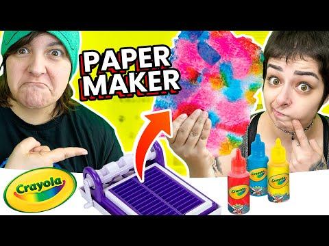 , title : 'Cash OR Trash? Testing Crayola Paper Maker Craft Kit