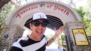 I found The Fountain of Youth! Weird East Coast Attraction
