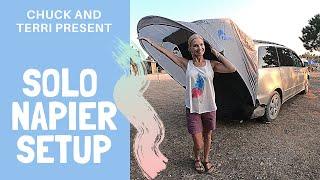 Solo Napier Van Tent Setup