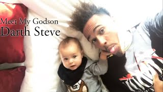 Chilling With My Godson Darth Steve in my private jet! | Lewis Hamilton Vlog