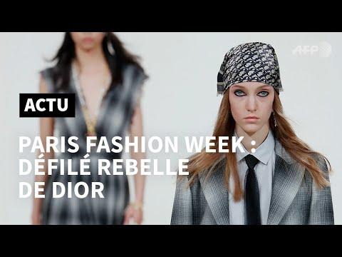 Mode à Paris: Dior se rebelle contre les stéréotypes patriarcaux   AFP Mode à Paris: Dior se rebelle contre les stéréotypes patriarcaux   AFP
