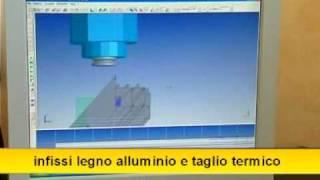 Infissi alluminio-legno, legno-alluminio METAL TECHNICS SANSONE