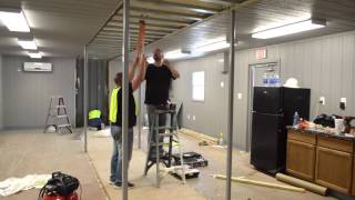 Build A Box Homes: 20x40 Assembly Extended Time-lapse