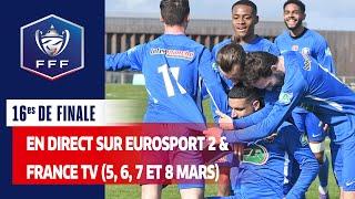 Les 16es de finale au programme I Coupe de France 2020-2021
