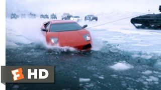 The Fate Of The Furious (2017)   Roman Goes Swimming Scene (710) | Movieclips