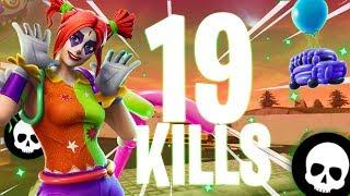 19 Kills With The New Peekaboo Skin!!!  Fortnite Battle Royale Gameplay
