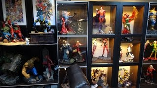 MARVEL STATUE COLLECTION ROOM TOUR 2017