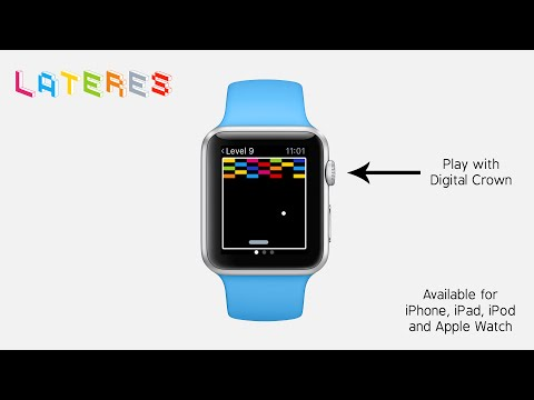 Lateres - a classic breakout game for Apple Watch with Digital Crown Support