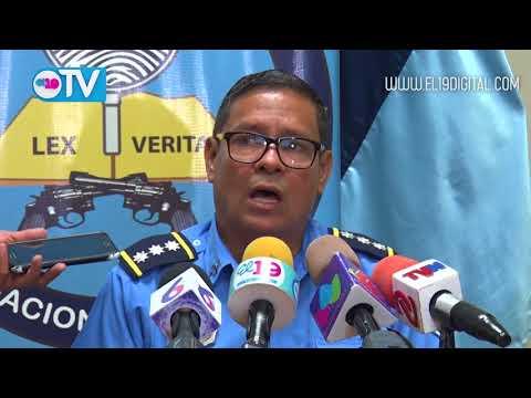 Policía captura a 4 sujetos por terrorismo en Masaya, León y Managua