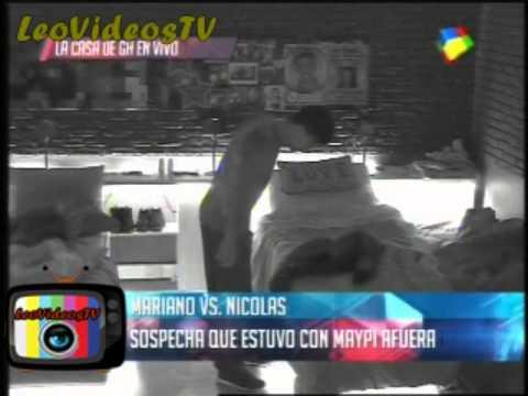 Mariano vs Nicolas discusion en vivo debate GH 2015 #GH2015 #GranHermano