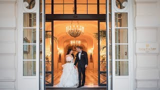 Paris elopement at the Shangri La palace - Joann and Arash