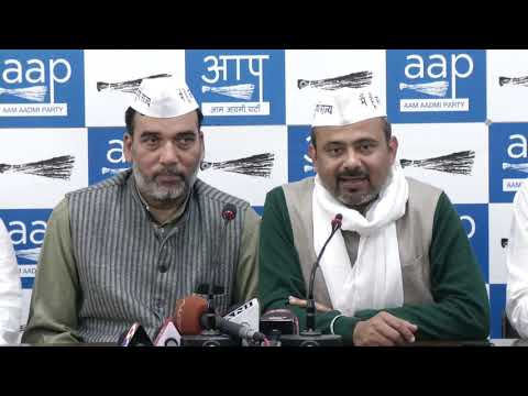 "AAP Launches Campaign Song For Lok Sabha Election ""दिल्ली कहती पूर्ण राज्य दो"""