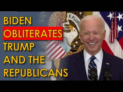 Biden HAMMERS Trump at Press Conference; Says the Republican Party may not exist in 2024