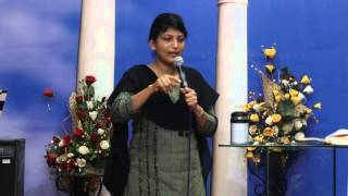 3-2-16 Bible Study Series On Sanctification - Pastor Pramila Jeyaraj