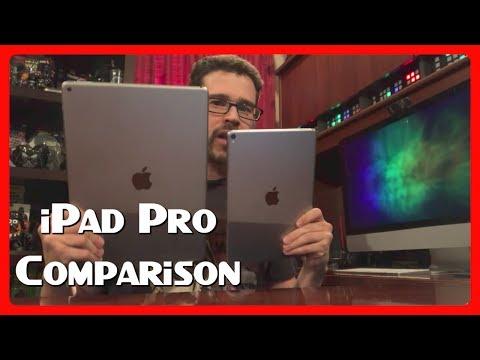 """iPad Pro 10.5"""" vs 12.9"""" iPad Pro """