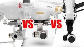 Phantom 3 Pro vs Inspire 1 vs Phantom 2 Vision Plus - HeliPal.com