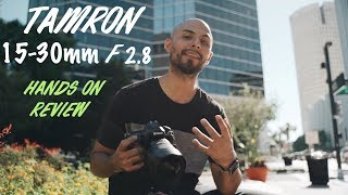 Best wide angle lens! | Tamron 15-30 F2.8 Review
