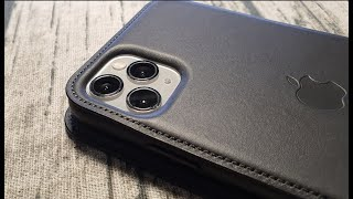 iPhone 11 Pro Max Leather Folio by Apple