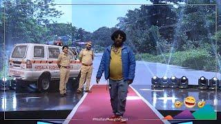MazhavilLaughWagon |  പ്രേമത്തെക്കാൾ വലിയ വേദന ഏതാ ..? 🔎   | MazhavilManorama