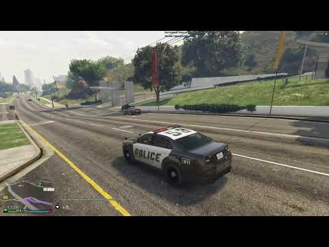 Stealing Gold As A Cop And Getting Rich - GTA V Funny Moments
