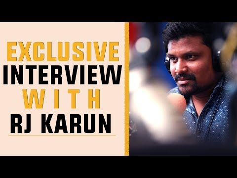 Exclusive Interview RJ Karun | Big  ..