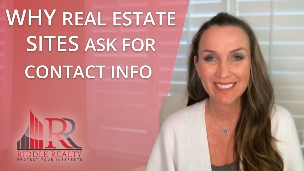 What Happens to Your Contact Info on Real Estate Sites?