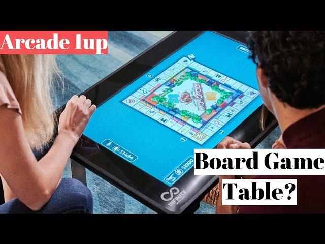 Сенсорный стол Infinity Game Table собрал всебя десятки популярных настольных игр